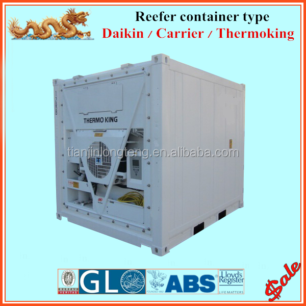 Cold container 10' 20' 40' van refrigerated container