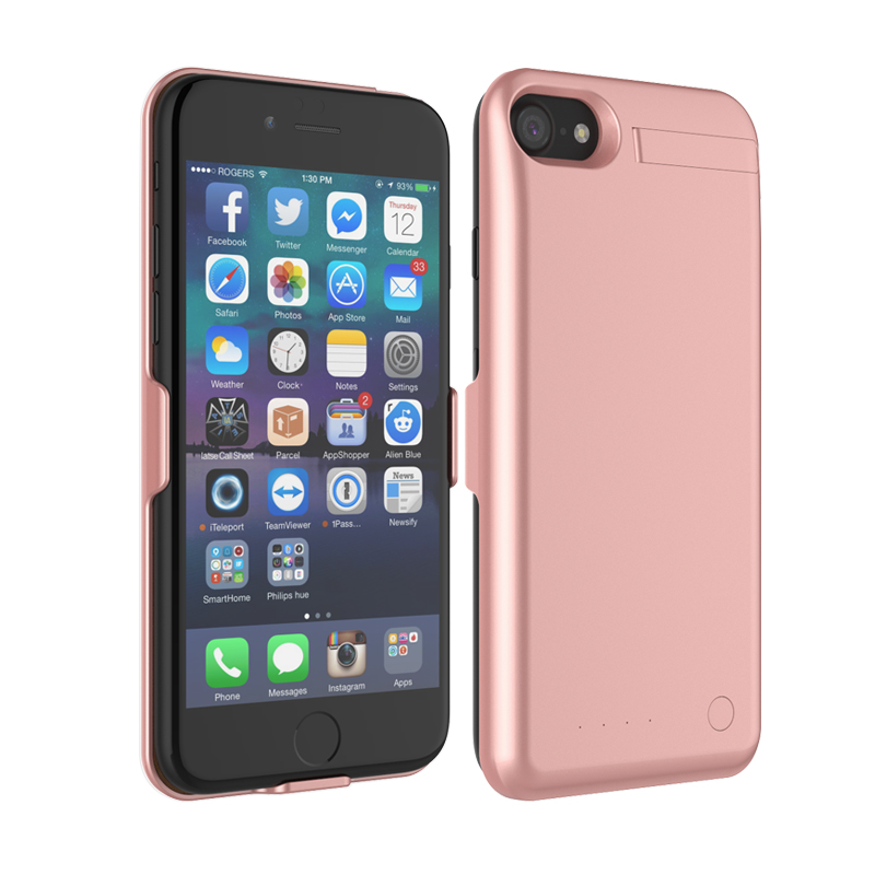 for iPhone 7 Backup Power Bank Battery Charger Case Cover External Battery for iPhone 7 Plus