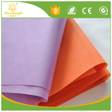 High quality biodegradable disposable100% polypropylene nonwoven fabric own factory for dust bag/ fusing interlining