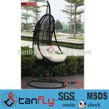 Cheap Hanging Rattan Egg Shaped Swing chair