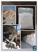 super fine silica fume/micro silica flour for refractory industry factory in China