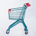 22L kids shopping trolley with cute design for supermarket