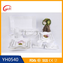 Best selling product white porcelain dishware