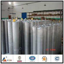 201/304/316 Woven Crimped Stainless Steel Wire Mesh