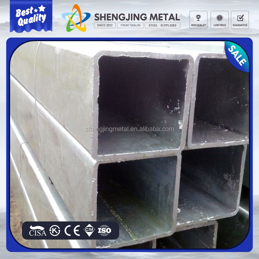 pipe manufacturer,gi rectangular steel tubes ,60*60*2.3*6000mm pre-galvanized square pipes