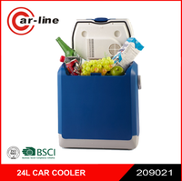 2016 Hot Sale Portable Car Cooler MIni Fridge 14L 12v DC Car Warmer Car Cooler Box
