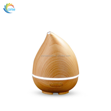 100ml New Model Water Drop Scent Air Humidifier Wood Grain Ultrasonic Aroma Spray Mist Humidifier