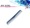MY GIRL wholesale factory price dark blue plastic wide tooth tips designer tortoise shell hair combs