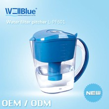 Manufacturer Alkaline Water Pitcher Alkaline Water Benefits (pH: 8.5-10.4 ,ORP -150mv to-300mv)