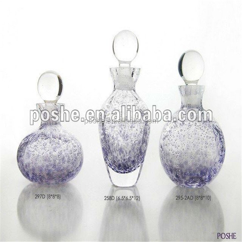 Best price popular beautiful purple women perfume bottle