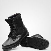 Factory Price Double Density Military Shoes