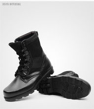 Factory price double density military shoes army boots