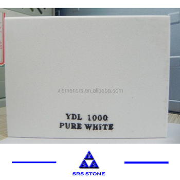 White quartz floor tiles quartz countertop Quartz slab