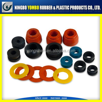 custom rubber Ningbo Yombo TS16949 custom rubber products