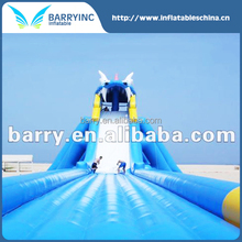 2017 commercial largest Giant inflatable water slide for sale