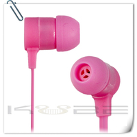 Wholesale High Quality Mp3 media player earphone without mic