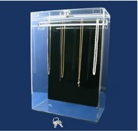 Acrylic Necklace Jewelry Display Cases For Sale