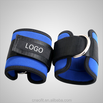 Wholesale Adjustable Neoprene Exercise Fitness Workout Ankle Weights Straps