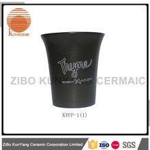 New Style plastic ceramic triangle flower pot