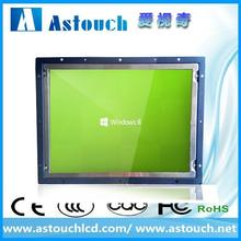 wholesale 19 inch open frame rs232/usb touch screen monitor for outdoor kiosk