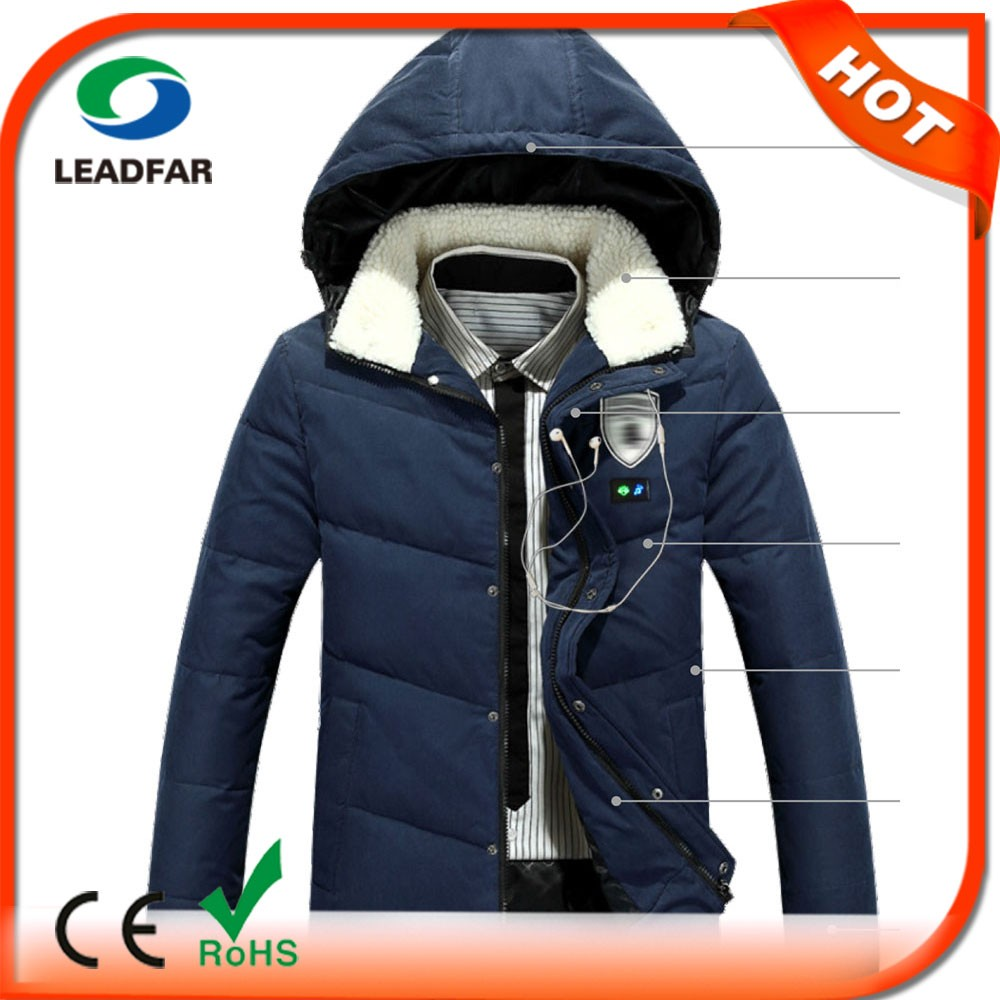 Heated leather jacket online shopping