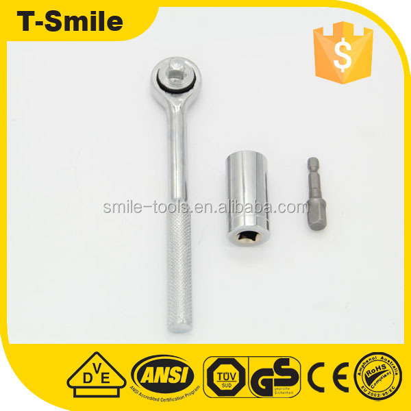 Universal Socket Adapter Ratchet Wrench For USA