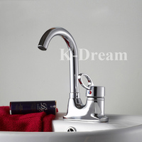 Water temperature control brass chrome plated bathtub faucets
