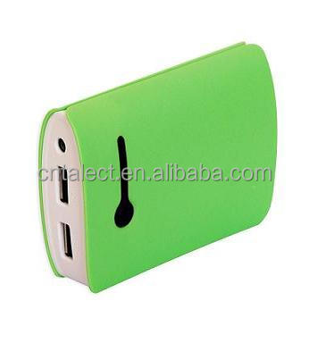 Cute designed 6000mah power bank for promotional gifts, 2014 new product!