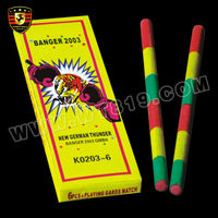 K0203-6 crazy bang match cracker firecrackers