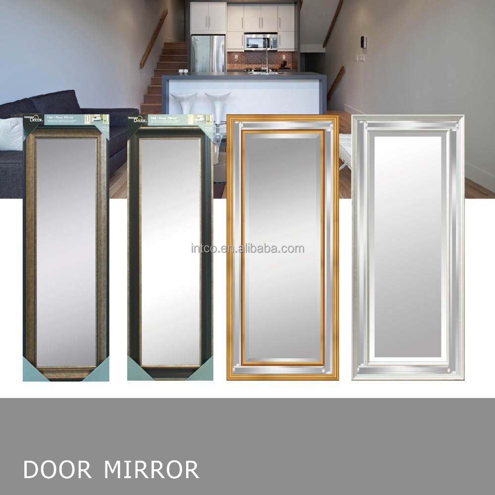 Retail Stores Hot Selling Big Decorative Door Mirror Frame and leaner mirror