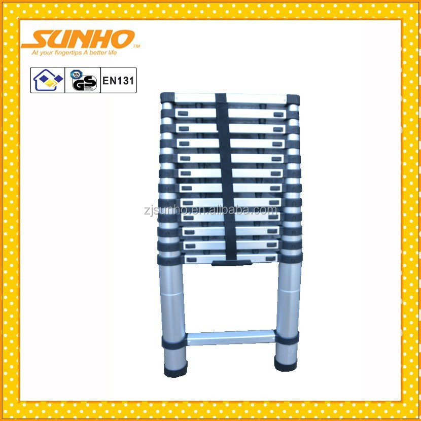 Aluminum Industrial Extension Telescopic Ladder