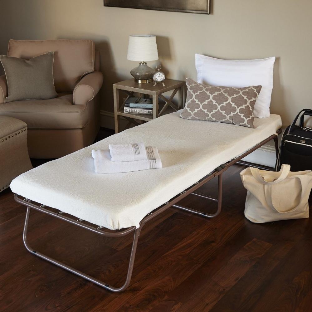 memory schaum zustellbett g ste klappbett mit stoff. Black Bedroom Furniture Sets. Home Design Ideas