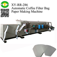 Electric & Pneumatic Coffee Filter Bag Paper Making Machine manufactuer maker