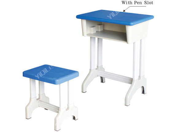 Hot sale school furniture set table and chair