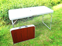 folding table camping table Outdoor Furniture plastic outdoor table tops