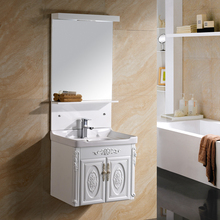 China Supplier Hand Carving Pvc Classic Style Sink Bathroom Vanity