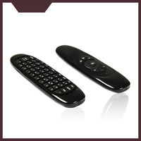 T10 C120 3 axes gyroscope Rechargeable lithium battery Remote Control Wireless smart air keyboard mouse