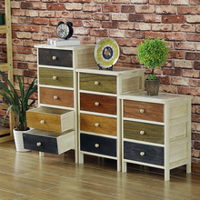 Eco friendly classic wood chest of drawers