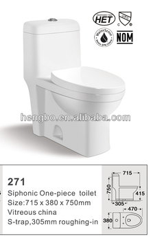CUPC ,HET toilet 271 for America and Canada