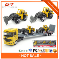 Wholesale 1/50 diecast container truck model for sale