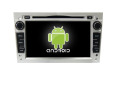Quad core!car dvd with mirror link/DVR/TPMS/OBD2 for 7inch touch screen quad core 4.4 Android system OPEL ASTRA H(Silver)