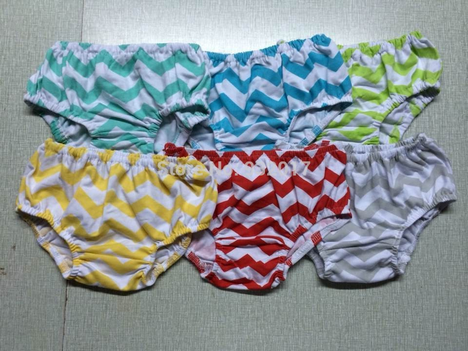 Baby boy cotton chevron bloomers infant Diaper Cover Toddler Cute bloomer