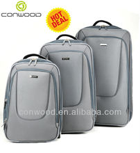 Conwood CT388 PC+polyester 20 24 travelling luggage bag set