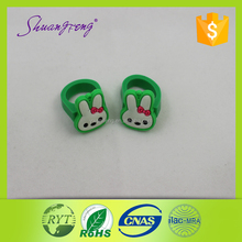 Hot sale promotional children ring popular kids rubber ring