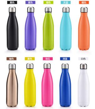 Hot sale SS304 stainless steel vacuum coke bottle 350ml 500ml and 750ml