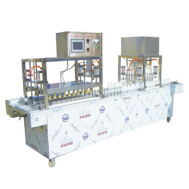China Automatic Yogurt Capping Machine PET Bottle Pure Milk Filling Machine