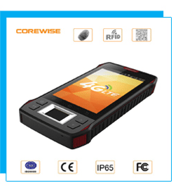 Free SDK rs232 13.56MHz handheld android 6.0 3G / 4G tablet long range passive rfid reader ethernet
