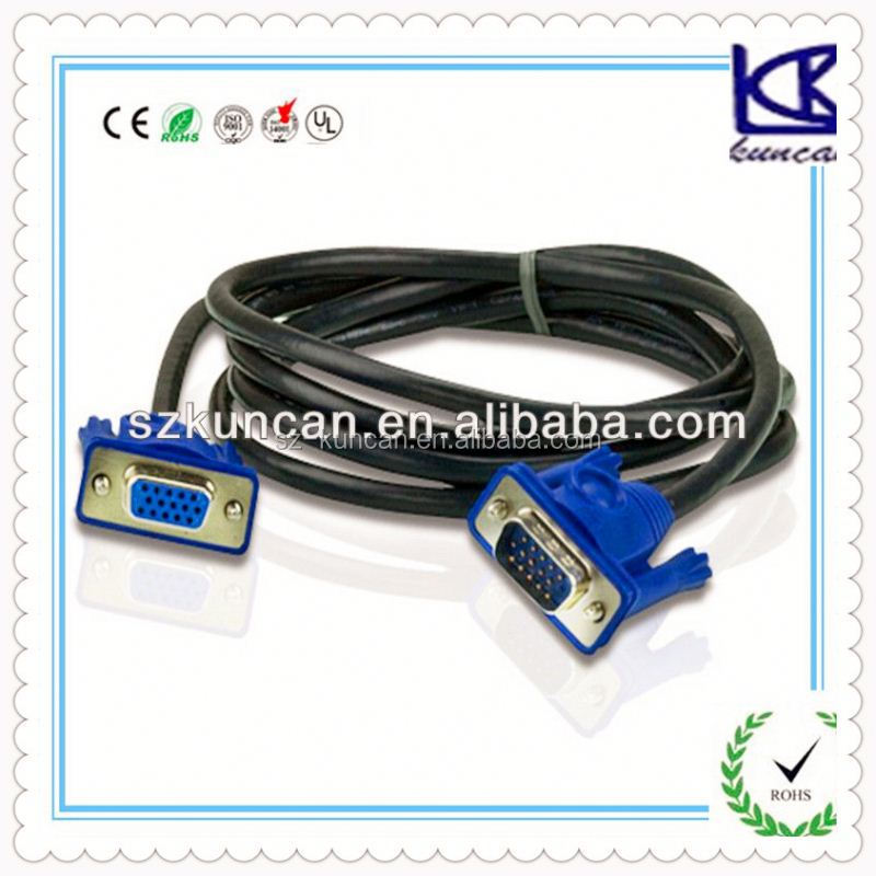 white dvi cable dvi-d digital vedio cable gold plated dvi to rca cable for pc/laptop