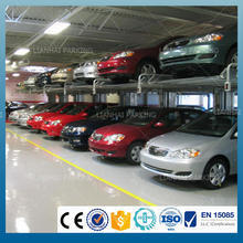 2 post hydraulic car parking lift with CE
