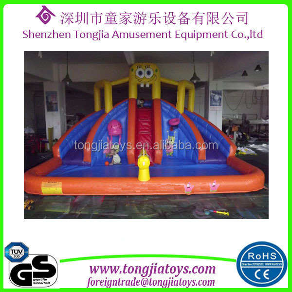 inflatable water toys removable water park backyard inflatable water park kids play inflatable slide